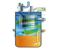 空压机油气分离系统