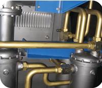 空压机油、水管路模块化