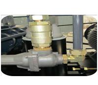 空压机全钢性管路连接