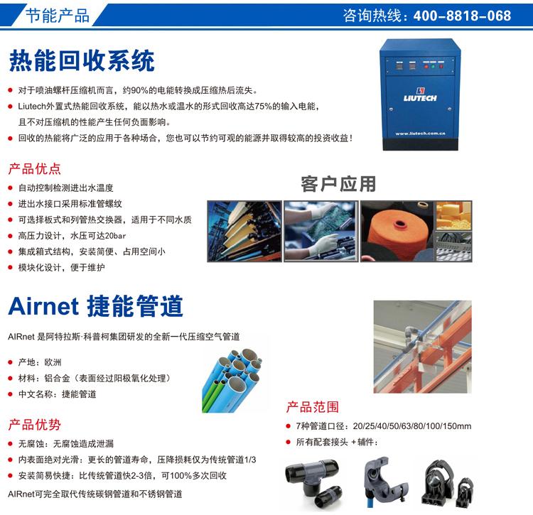 富达节能空压机产品