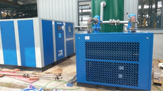 永磁变频节能空压机在机械制造行业的应用