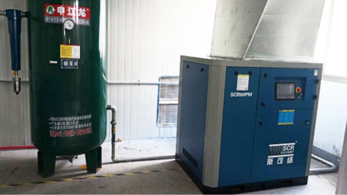 斯可络永磁变频空压机在电子行业的应用